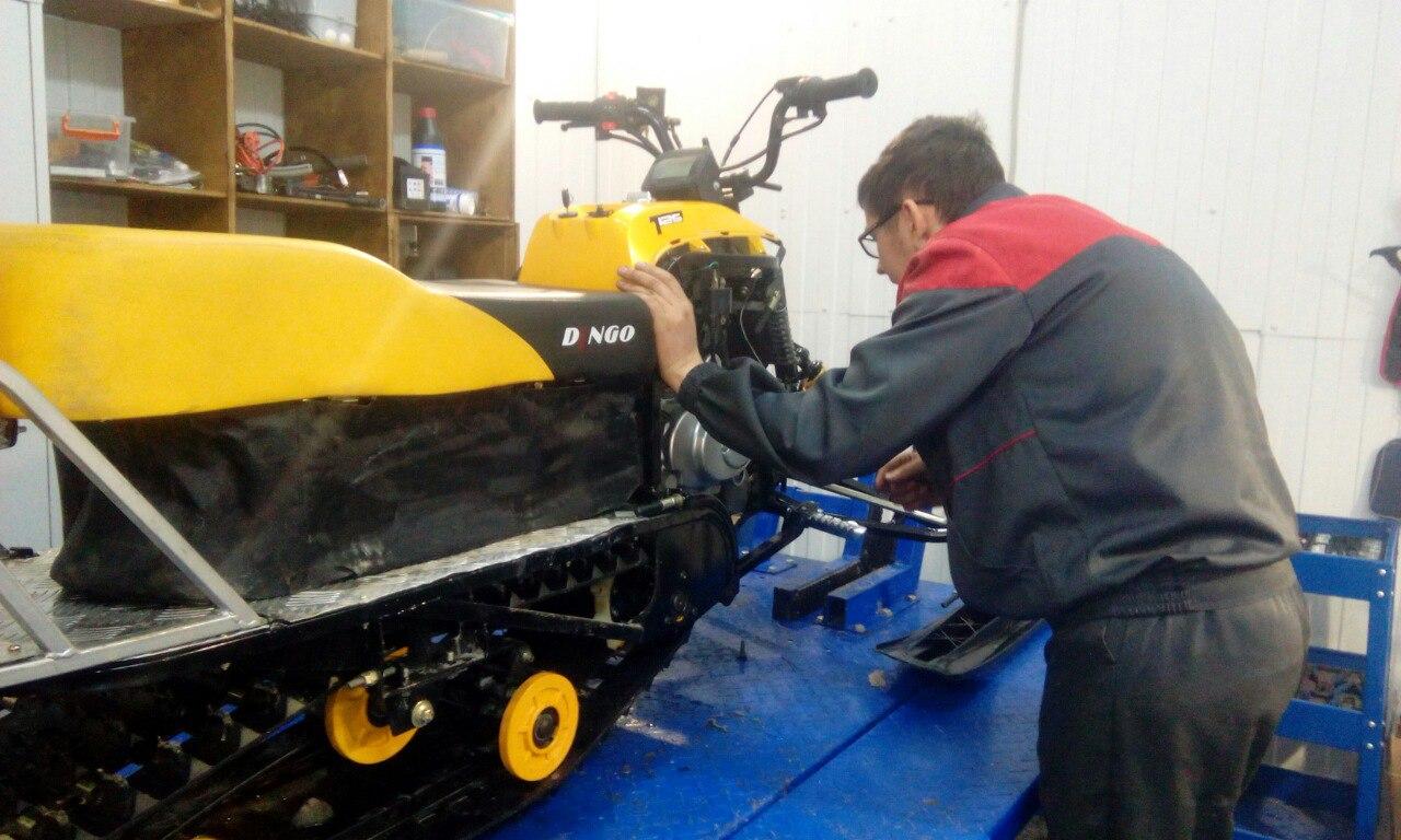 Ремонт снегохода Dingo T125