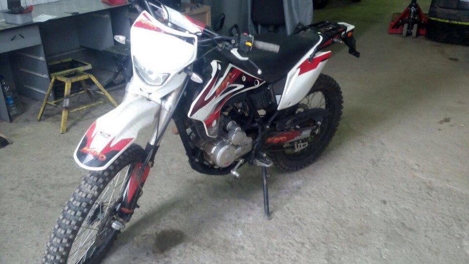 Ремонт мотоцикла KAYO T2