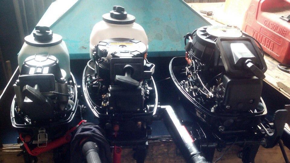 Обкатка лодочных моторов HIDEA