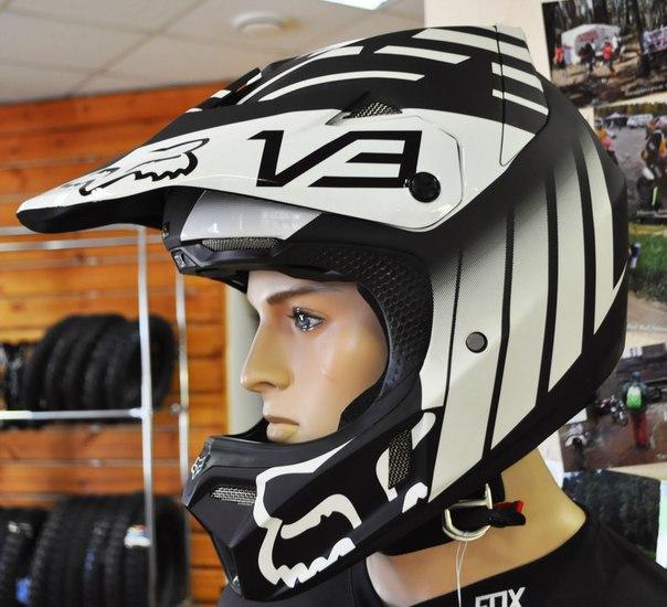Шлем fox v3 купить в Екатеринбурге в магазине COOL MOTORS