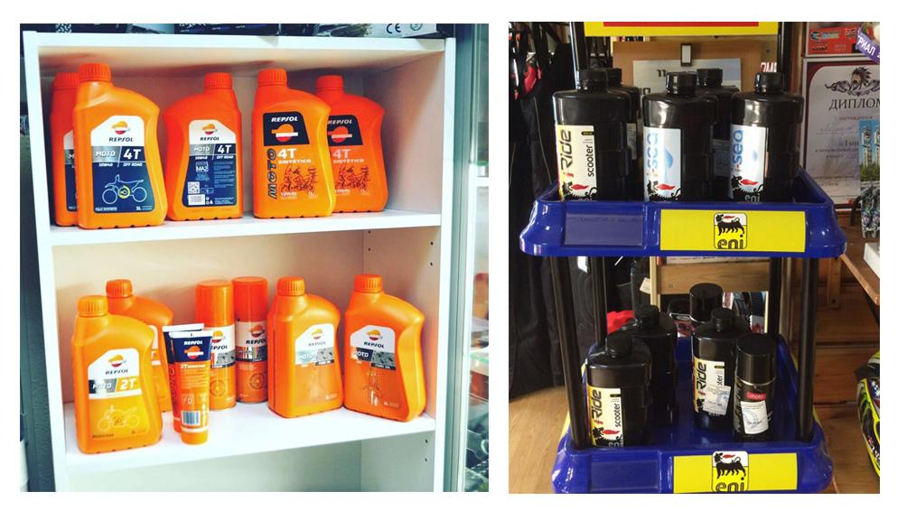 Моторное масло Eni  и моторное масло Repsol купить в Екатеринбурге в магазине COOL MOTORS