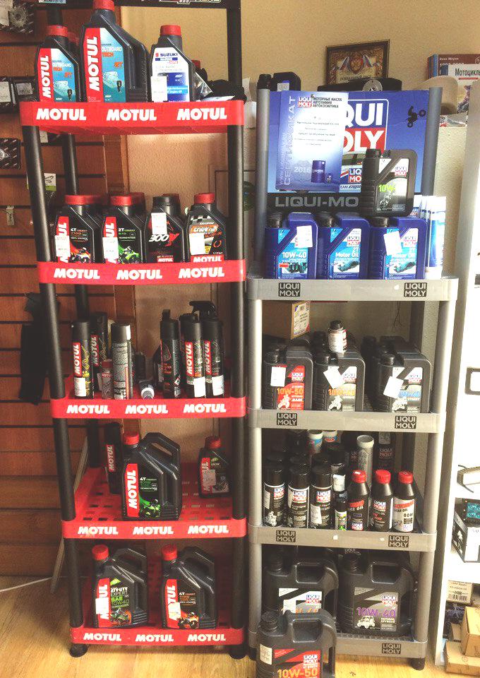 Моторное масло Motul  и моторное масло LIQUI MOLY купить в Екатеринбурге в магазине COOL MOTORS