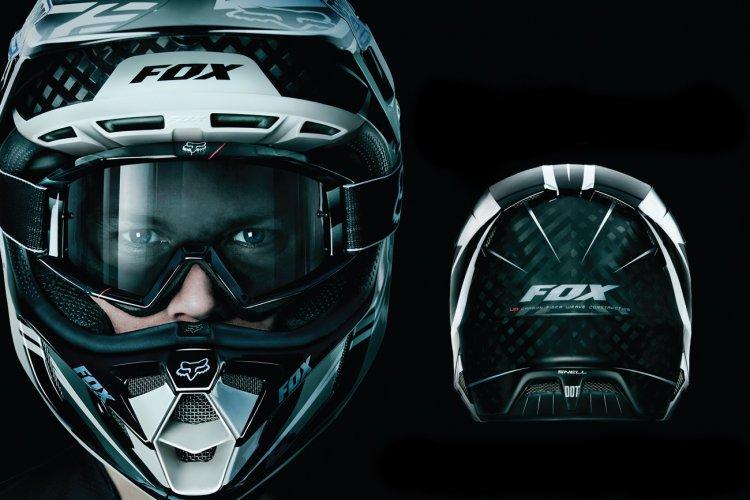 Шлем fox v4 купить в Екатеринбурге в магазине COOL MOTORS