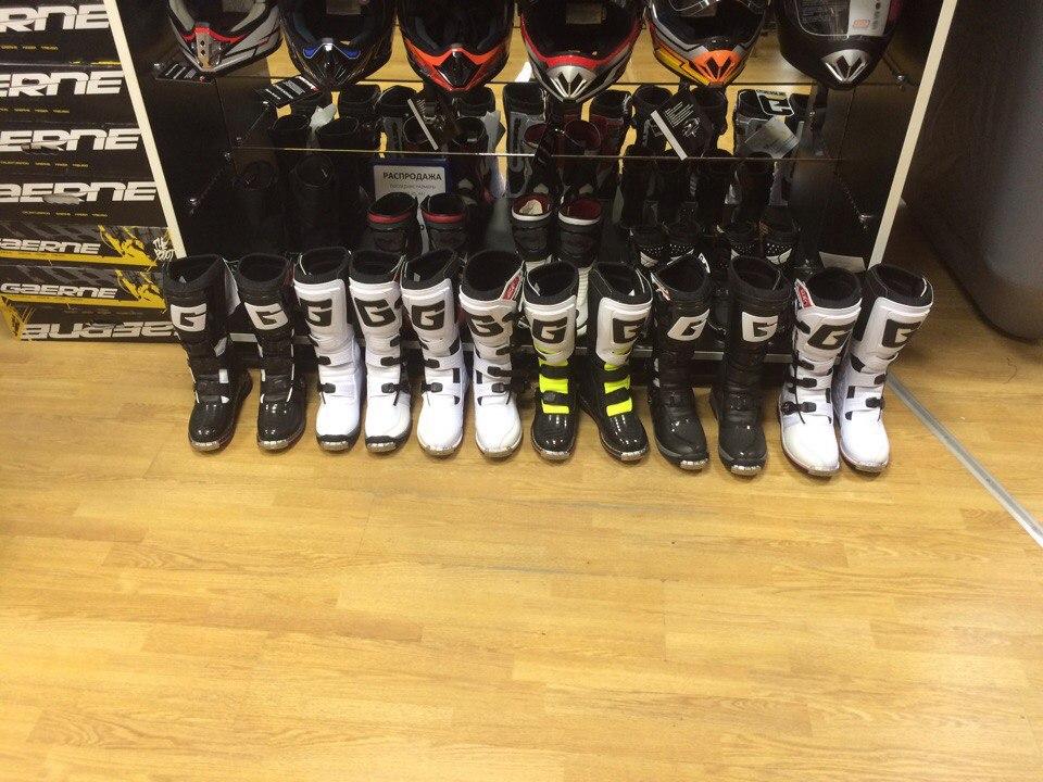 Купить мотоботы Gaerne в Екатеринбурге в магазине COOL MOTORS