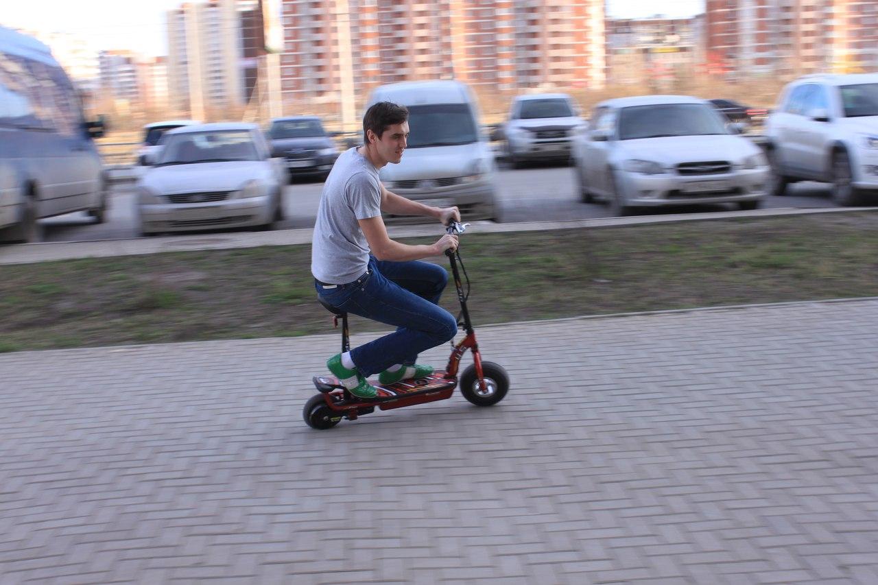 Взрослый электросамокат купить в Екатеринбурге в магазине COOL MOTORS