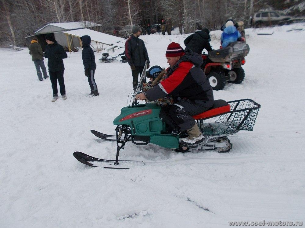 Снегоход Турист