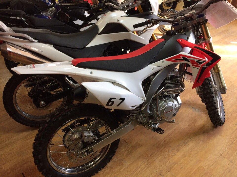 Купить мотоцикл Motoland XR250 в Екатеринбурге