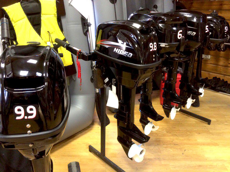 Лодочные моторы HIDEA купить в Екатеринбурге в магазине COOL MOTORS
