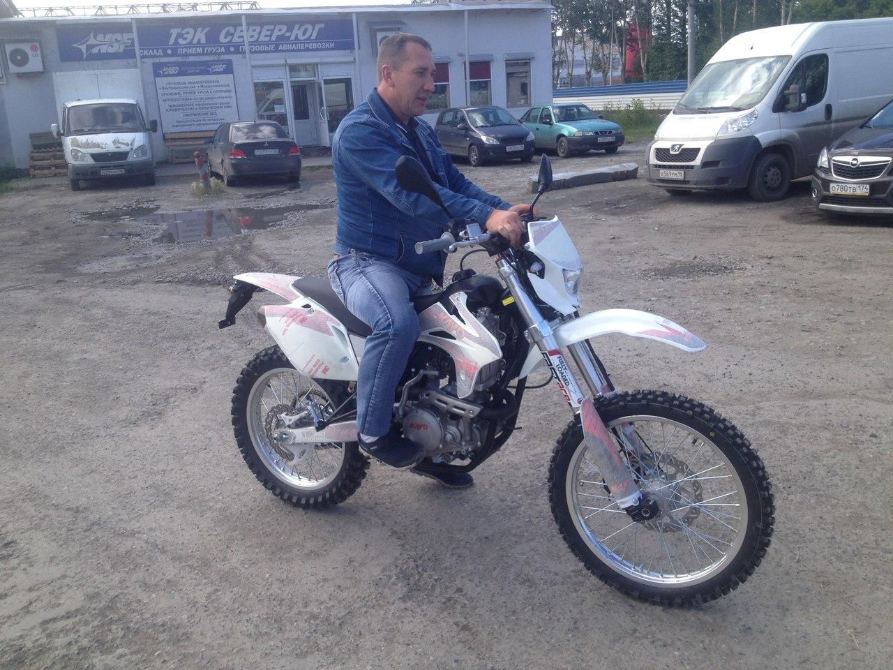 Купить мотоцикл KAYO T6 в Екатеринбурге в магазине COOL MOTORS