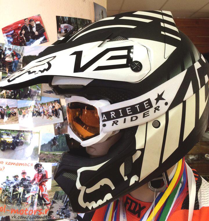Кроссовый шлем купить в Екатеринбурге в магазине COOL MOTORS