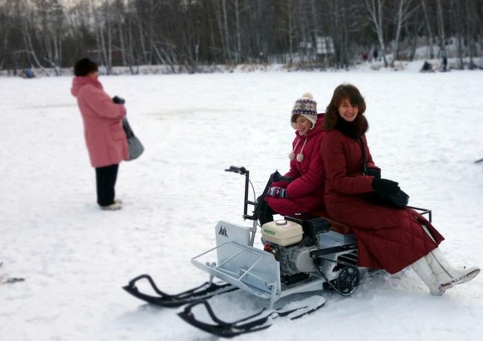 Цена на снегоход Рыбак-2МР в Екатеринбурге в магазине COOL MOTORS