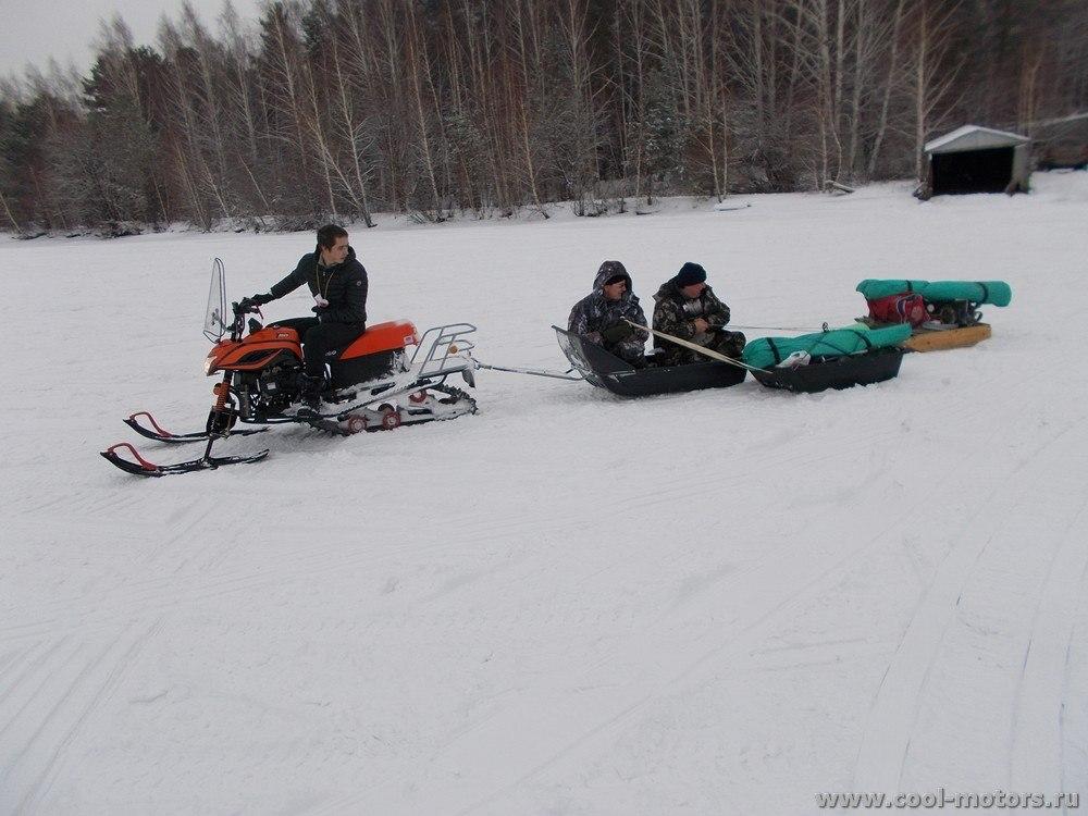 Снегоход DINGO