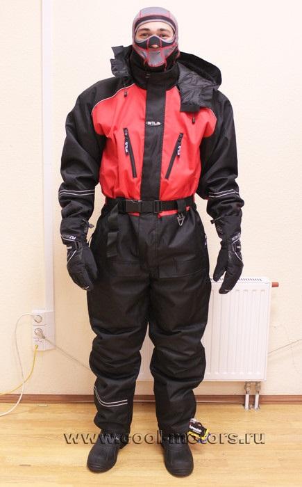 Комбинезон зимний для снегохода купить в Екатеринбурге в магазине COOL MOTORS