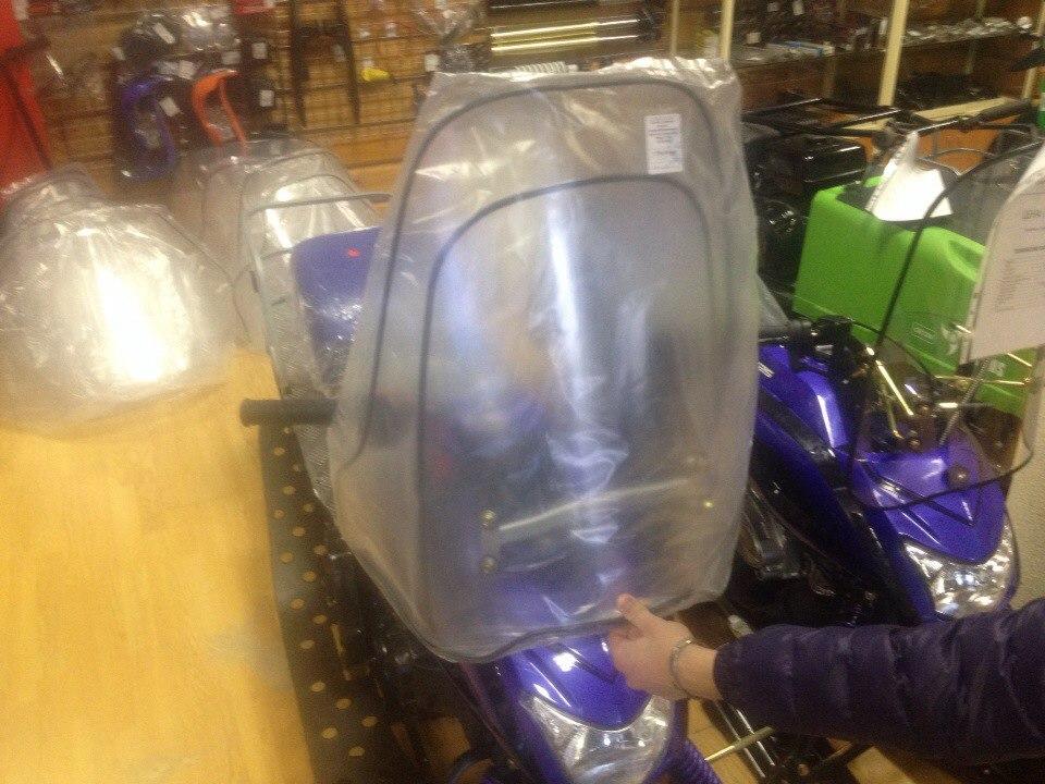 увеличенное стекло снегоход Динго Т150